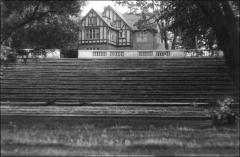 Thumbnail of Honors House (President's Residence No. 2), The Ohio State University: View from Browning Amphitheater, 1930