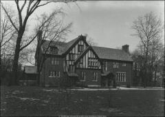 Thumbnail of Honors House (President's Residence No. 2), The Ohio State University: Exterior view from south