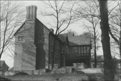 Thumbnail of Honors House (President's Residence No. 2), The Ohio State University: Exterior view from east