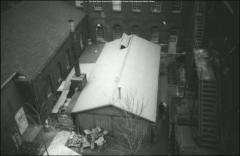 Thumbnail of Hayes Kiln Shed, The Ohio State University: Exterior view from above
