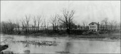 Thumbnail of First Poultry Farm, The Ohio State University: View of west bank of Olentangy River