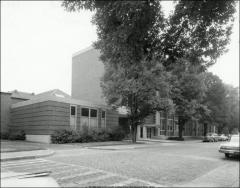 Thumbnail of Hopkins Hall, The Ohio State University: Exterior view from northeast
