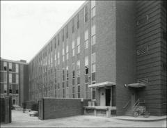 Thumbnail of Hopkins Hall, The Ohio State University: Exterior view from southeast