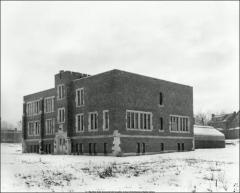 Thumbnail of Kinsman Hall, The Ohio State University: Exterior view, 1924