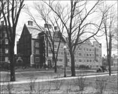 Thumbnail of Mack Hall, The Ohio State University: Exterior view from northwest