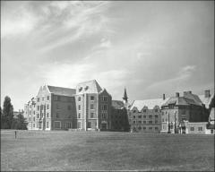 Thumbnail of Mack Hall, The Ohio State University: Exterior rear view from northeast