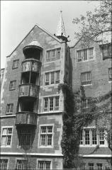 Thumbnail of Mack Hall, The Ohio State University: Exterior view from south