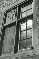 Thumbnail of Mack Hall, The Ohio State University: Exterior view of sundial