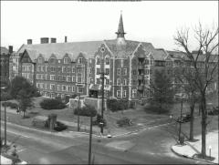 Thumbnail of Mack Hall, The Ohio State University: Exterior view from southwest