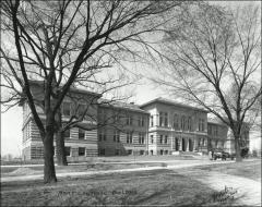 Thumbnail of Lazenby Hall, The Ohio State University: Exterior view, 1916