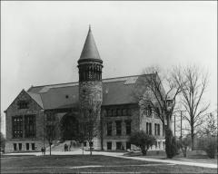Thumbnail of Orton Hall, The Ohio State University: Exterior view, 1904