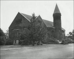 Thumbnail of Orton Hall, The Ohio State University: Exterior view