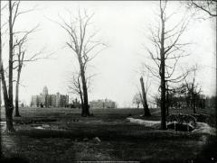 Thumbnail of University Hall, 230 West 17th Avenue, Chemistry Building No. 1, The Ohio State University: View from Neil Run, ca. 1887