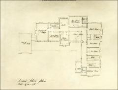 Thumbnail of Honors House (President's Residence No. 2), The Ohio State University: Original plans of second floor
