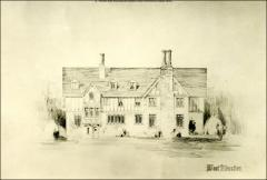 Thumbnail of Honors House (President's Residence No. 2), The Ohio State University: West elevation