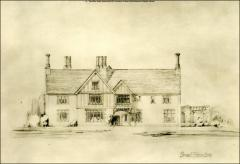 Thumbnail of Honors House (President's Residence No. 2), The Ohio State University: South elevation