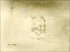 Thumbnail of Honors House (President's Residence No. 2), The Ohio State University: Plot plan