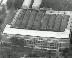Thumbnail of McPherson Chemical Laboratory, The Ohio State University: Aerial view, 1947