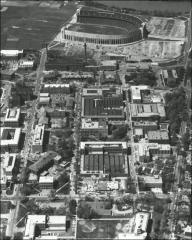 Thumbnail of McPherson Chemical Laboratory, The Ohio State University: Aerial view, 1958
