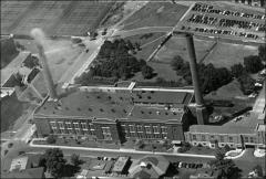 Thumbnail of McCracken Power Plant, The Ohio State University: Aerial view, 1930
