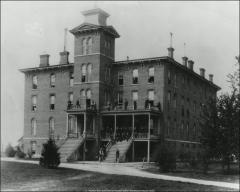 Thumbnail of North Dorm, The Ohio State University: Exterior view, 1881
