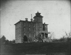 Thumbnail of North Dorm, The Ohio State University: Exterior view, 1878