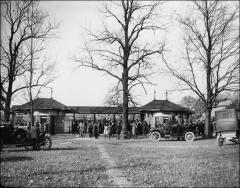 Thumbnail of Ohio Field and Ohio Field Buildings, The Ohio State University: South ticket offices, 1909
