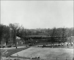 Thumbnail of Ohio Field and Ohio Field Buildings, The Ohio State University: View from Armory, 1916
