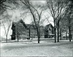 Thumbnail of Oxley Hall, The Ohio State University: Exterior view, 1908