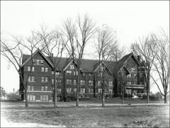 Thumbnail of Oxley Hall, The Ohio State University: Exterior view, 1910