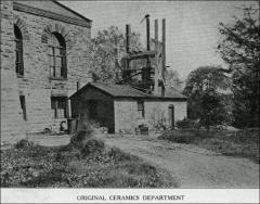 Thumbnail of Orton Kiln Shed, The Ohio State University: Exterior view