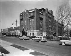 Thumbnail of Starling Loving Hall, The Ohio State University: Exterior view, 1963