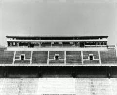 Thumbnail of Ohio Stadium, The Ohio State University: Interior view showing pressbox, 1950