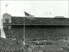 Thumbnail of Ohio Stadium, The Ohio State University: Interior view looking west, 1928