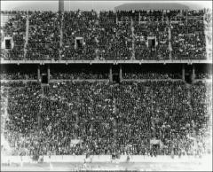 Thumbnail of Ohio Stadium, The Ohio State University: Interior view of tiered seating,1924