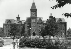 Thumbnail of University Hall (demolished), The Ohio State University: Exterior view, 1959