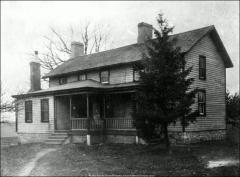 Thumbnail of Farm House No. 1 (Crowner House), The Ohio State University: Exterior view, 1900