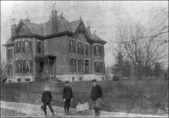Thumbnail of Knight House (Faculty Residence No. 2), The Ohio State University: Exterior view, 1899