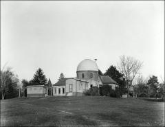 Thumbnail of McMillin Observatory, The Ohio State University: Exterior view from southwest