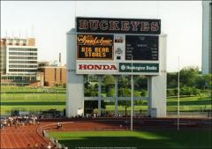 Thumbnail of Ohio Stadium, The Ohio State University: Interior view of scoreboard, 1995