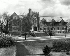 Thumbnail of Pomerene Hall, The Ohio State University: Exterior view, 1927