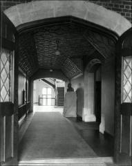 Thumbnail of Pomerene Hall, The Ohio State University: Interior view of corridor
