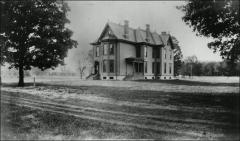 Thumbnail of Thomas House (Faculty Residence No. 3), The Ohio State University: Exterior view in original location