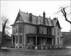 Thumbnail of Thomas House (Faculty Residence No. 3), The Ohio State University: Exterior view