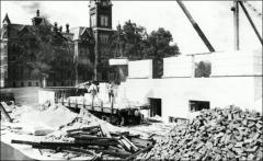 Thumbnail of Thompson Memorial Library, The Ohio State University: Construction