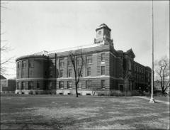 Thumbnail of Ramseyer Hall, The Ohio State University: View from northeast, 1963