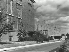 Thumbnail of Central Services Building, The Ohio State University: Exterior view from southeast