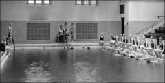 Thumbnail of Pomerene Hall, The Ohio State University: Interior view of swimming pool