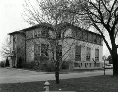 Thumbnail of Poultry Administration Building, The Ohio State University: Exterior view, 1963