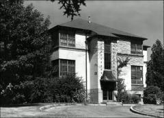Thumbnail of Poultry Administration Building, The Ohio State University: Exterior view